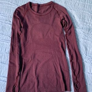 Lululemon Swiftly Tech Long Sleeve T-Shirt